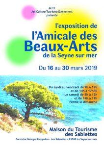Exposition à La Maison du Tourisme
